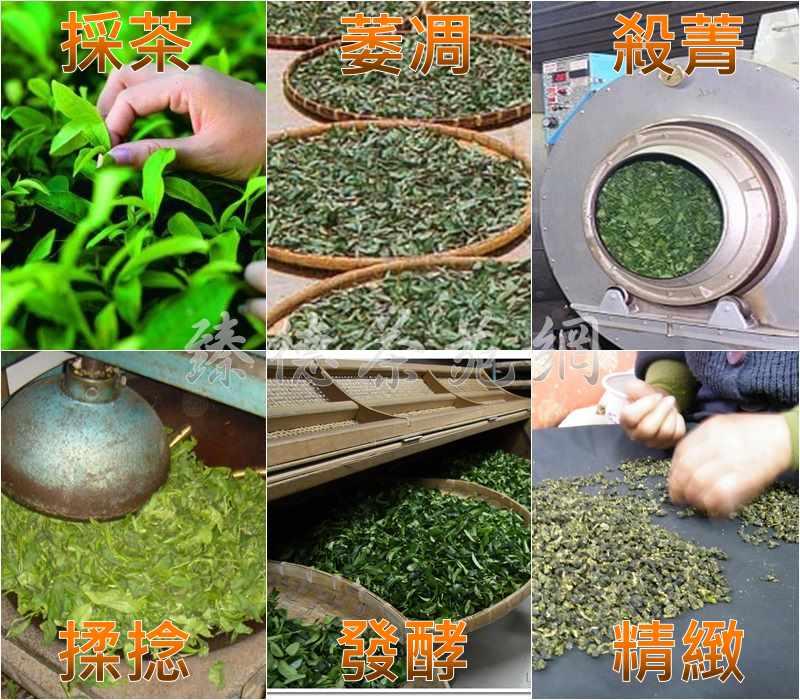 茶葉製作流程