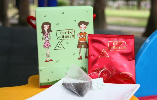 日月潭阿薩姆紅茶三角立體茶包