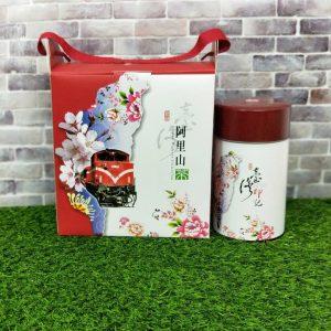 台灣印記阿里山高冷茶提盒-臻德茶葉